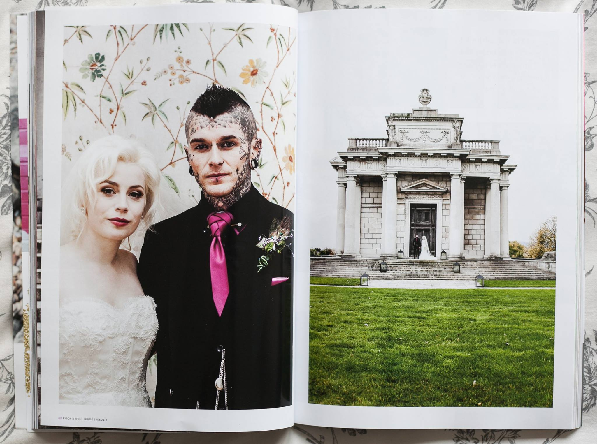 Casino in Marino dublin gothic wedding by caroline mc nally