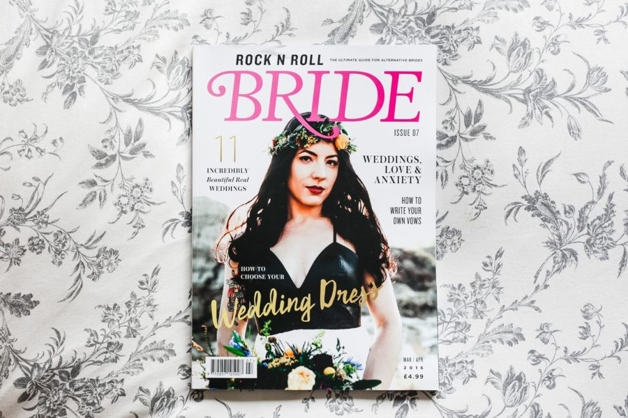 Rock And Roll Bride Magazine Feature