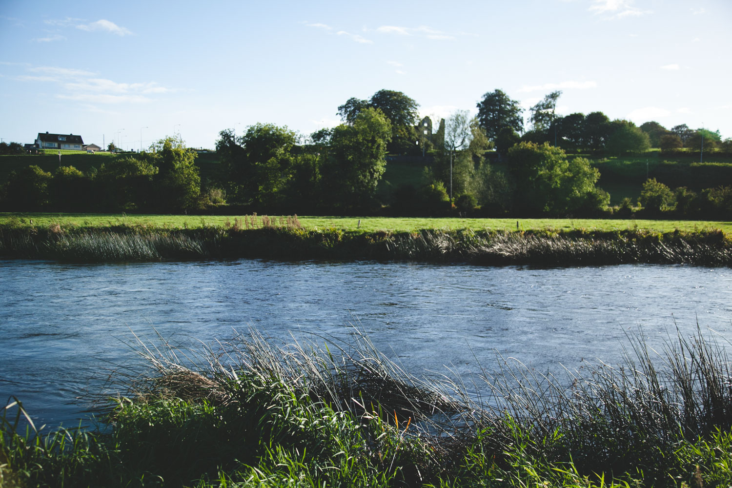 River running by the Millhouse in Slane
