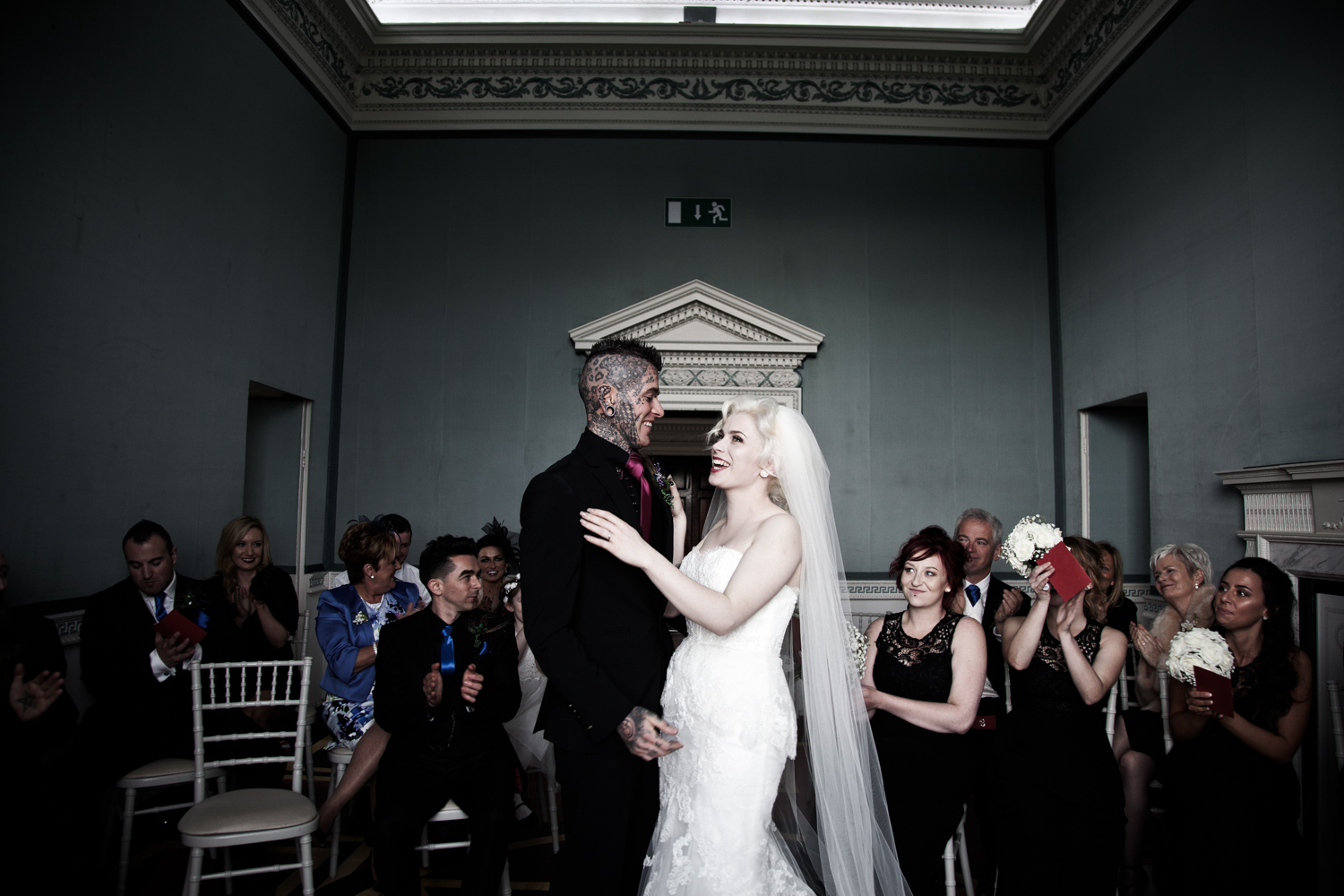 Casino Marino Dublin civil wedding ceremony