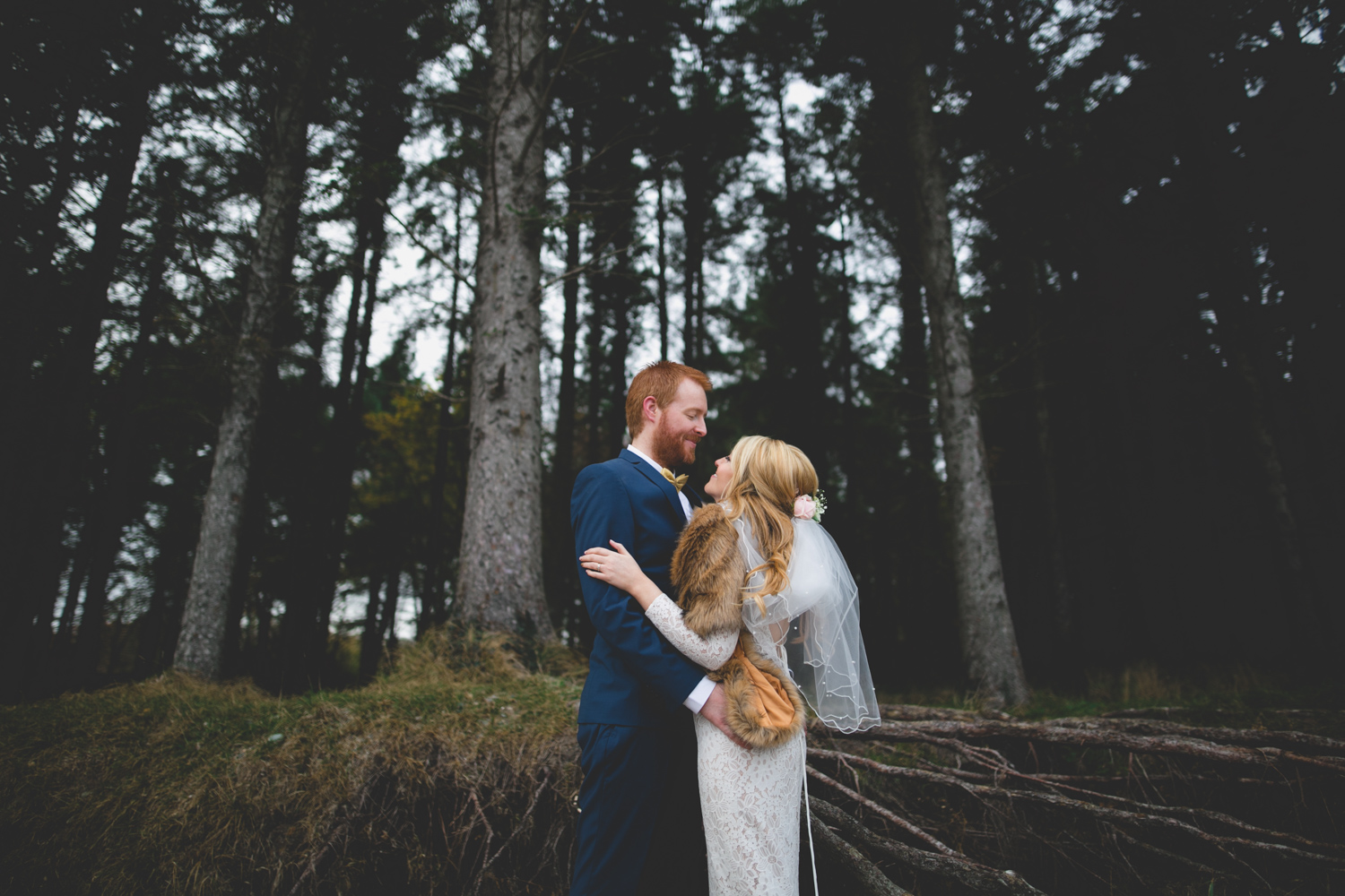 Caroline Mc Nally at Wild Things Wed Photography wedding portraits