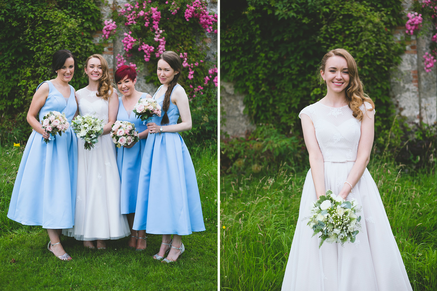 Summer wedding at Kilyon Manor shot by Caroline Mc Nally at Wild Things Wed Photography