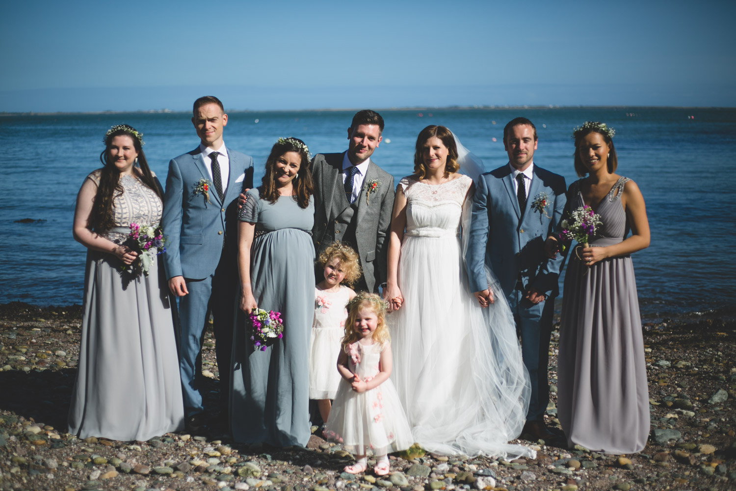 Irish seaside wedding in Ladies Cove Gorey
