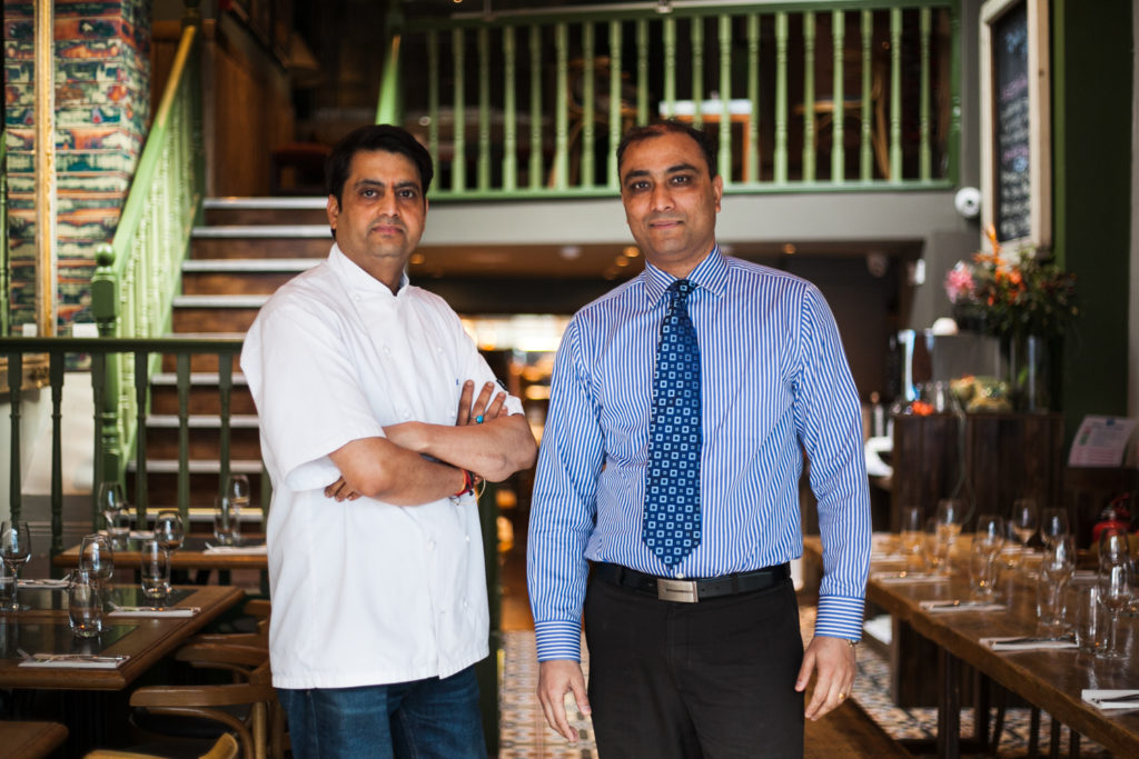 Chef and owner at Pickle restaurant Camden street