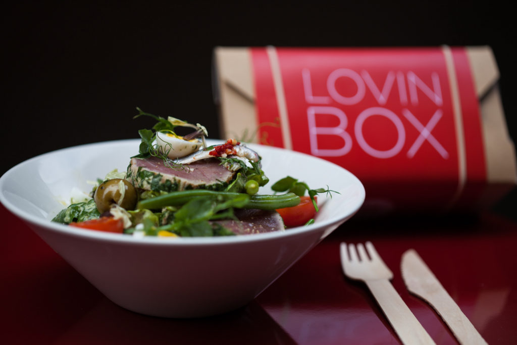 Lovin Box by loving Dublin featuring Tuna by Coppinger Row