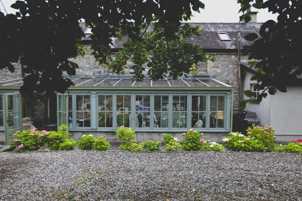 Conservatory view of Kindalin House Mount druid