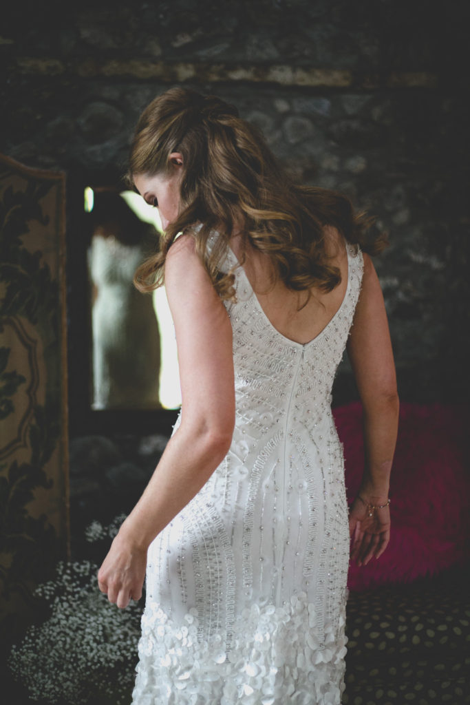 back of wedding dress shot - Wild Things Wed