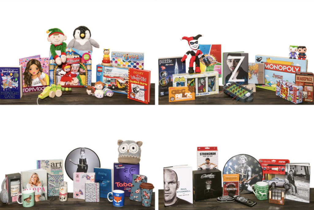 Gift guide images for Easons