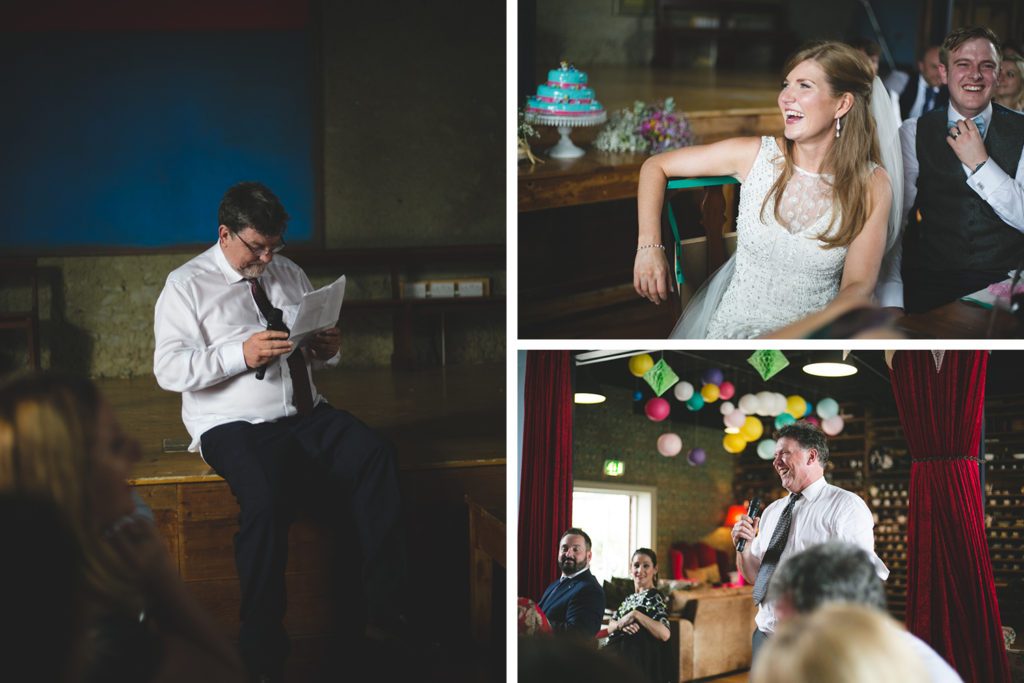 wild things wed alternative wedding photography - speeches