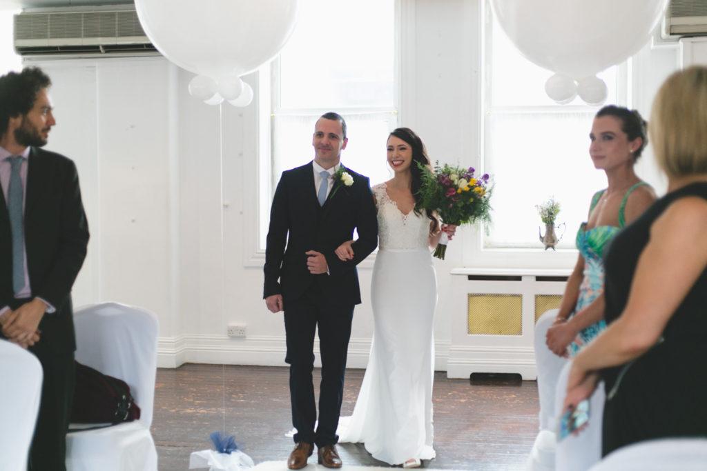 Fallon & byrne wedding room