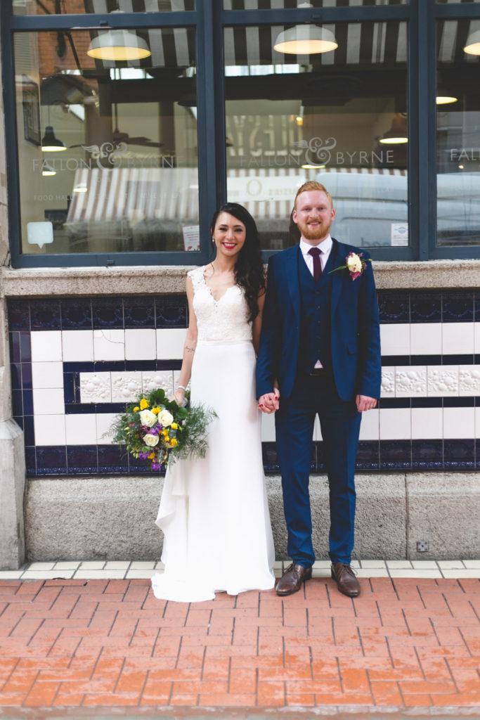 Fallon and Byrne Wedding dublin exchequer street
