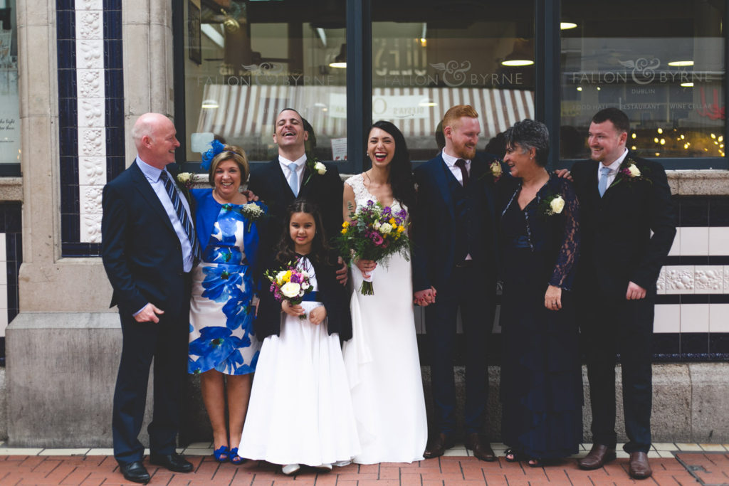 natural relaxed wedding family portraits caroline mc nally photography