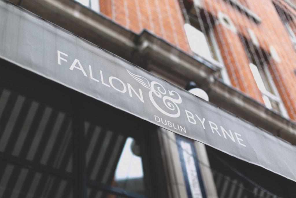 Fallon & Byrne Dublin Awning