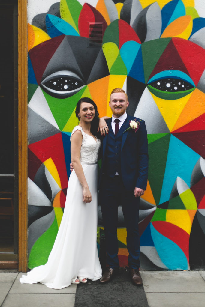 Drury Buildings wedding photographs by Wild things wed photography