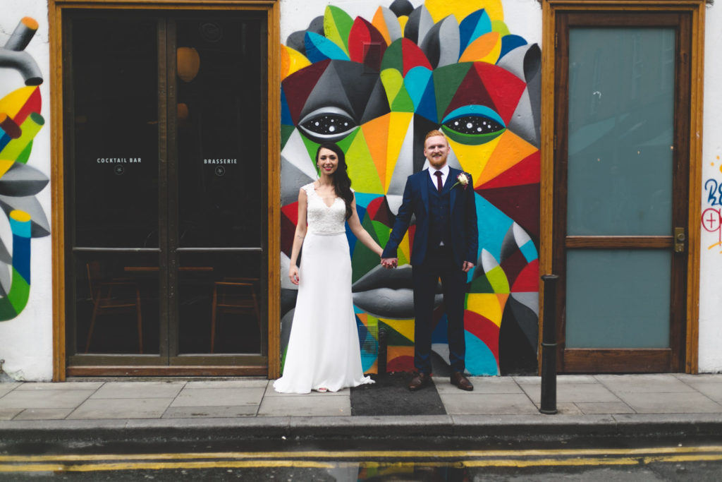 Wedding at Fallon & Byrne Dublin city ireland fallon&byrne