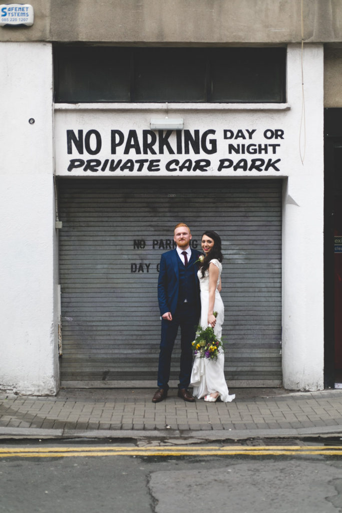 Dublin city wedding urban photographs caroline mc nally