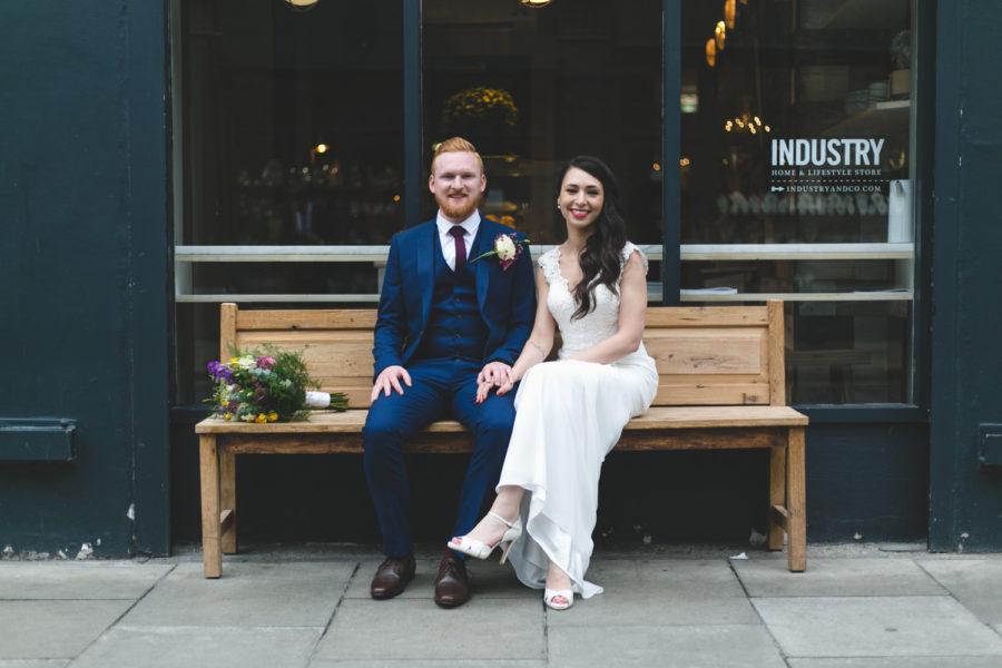 Ana & Stephen's Fallon&Byrne Wedding