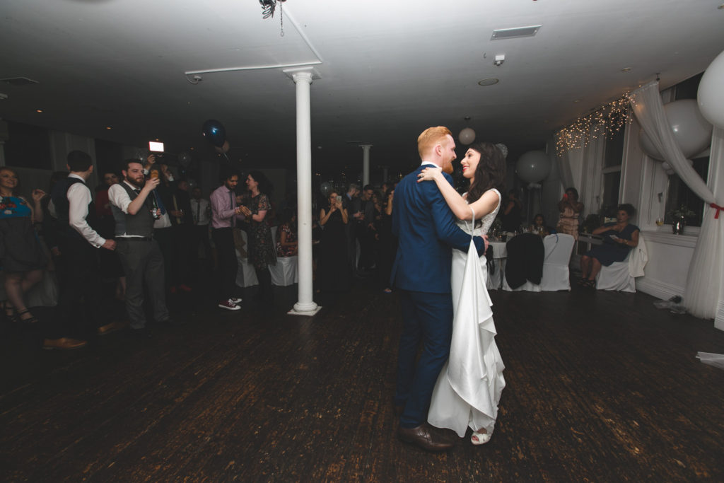 First dance at Fallon and Byrne ballroom