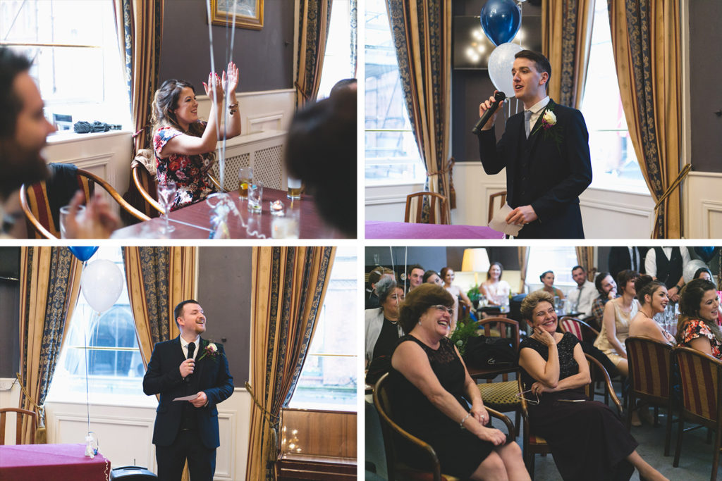 speeches at central bar hotel