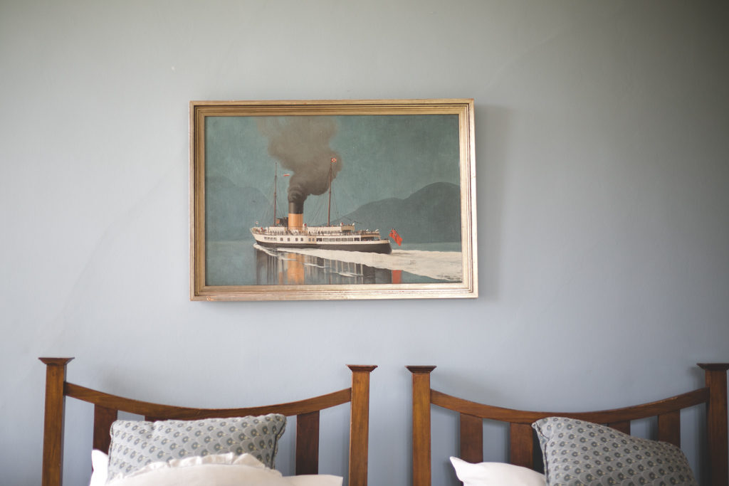 Painting of a steamboat