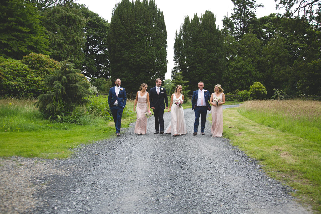 bridal party portraits by Wild Things Wed Photography