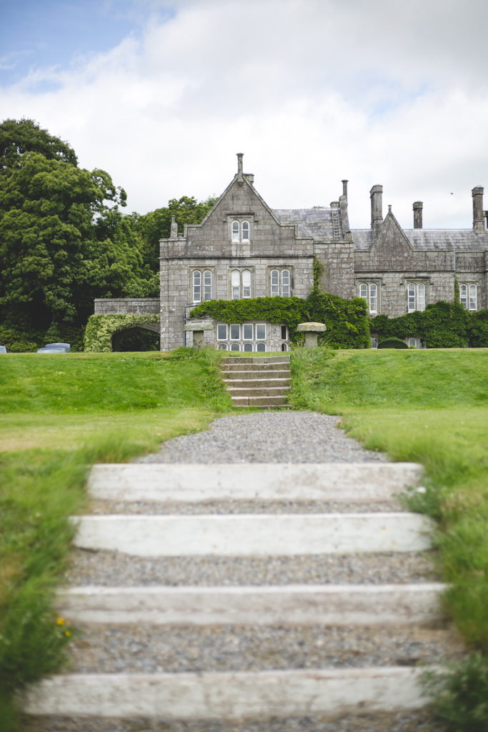 amazing architecture at Lisnavagh House Wedding Venue