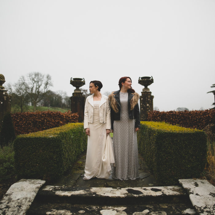 Elaine & Maria's LoughCrew House Wedding