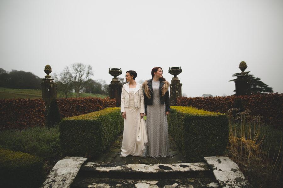Elaine & Maria's LoughCrew House Wedding