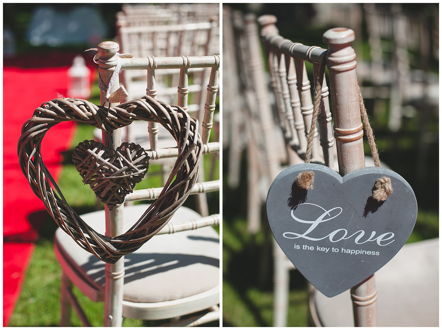 Decoration ideas for chairs at your ceremony