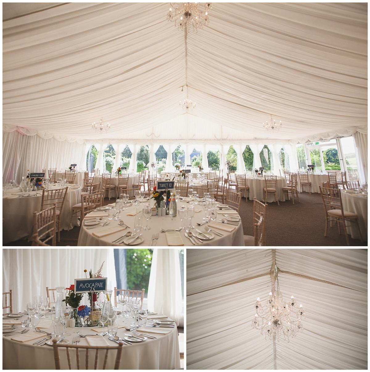 Clonabreany House Dining Room Marquee