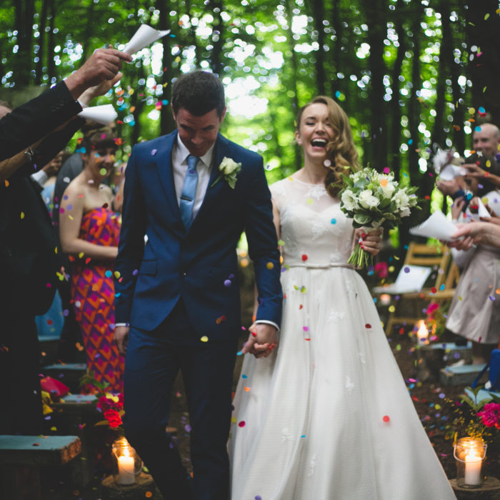 Mark & Gretta's Kilyon Manor Woodland Wedding