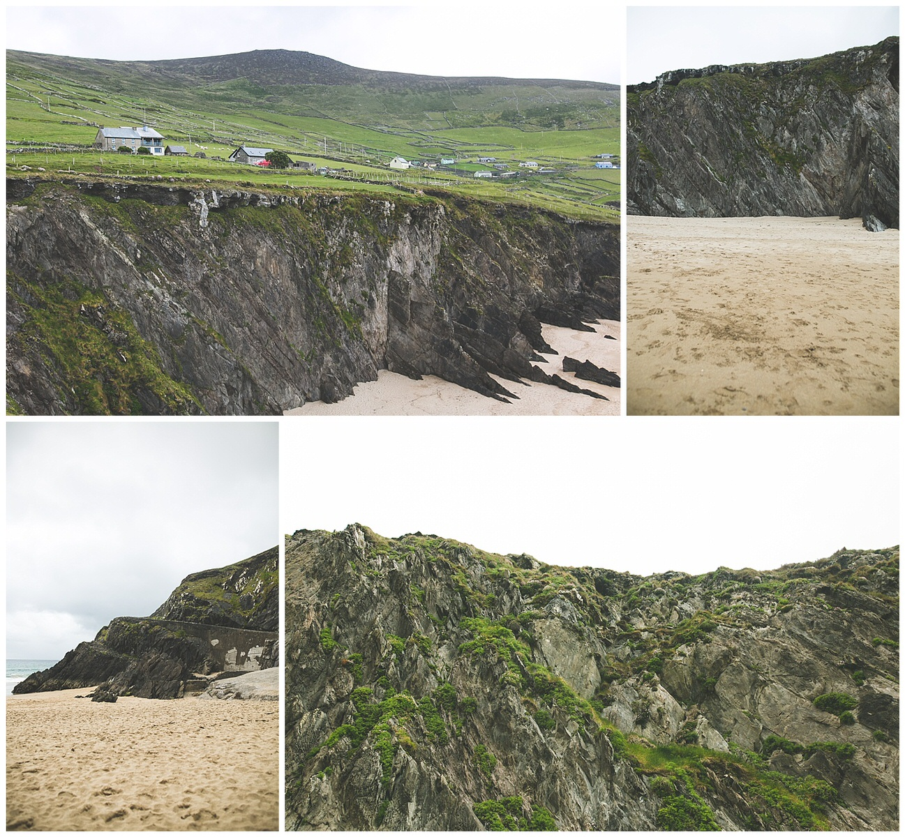 Ireland magnificent rugged coastline in Dingle