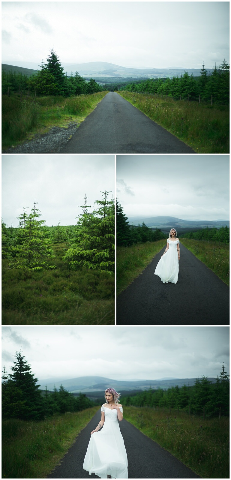 Wicklow Mountains Bridal Shoot by Wild Things Wed Photography