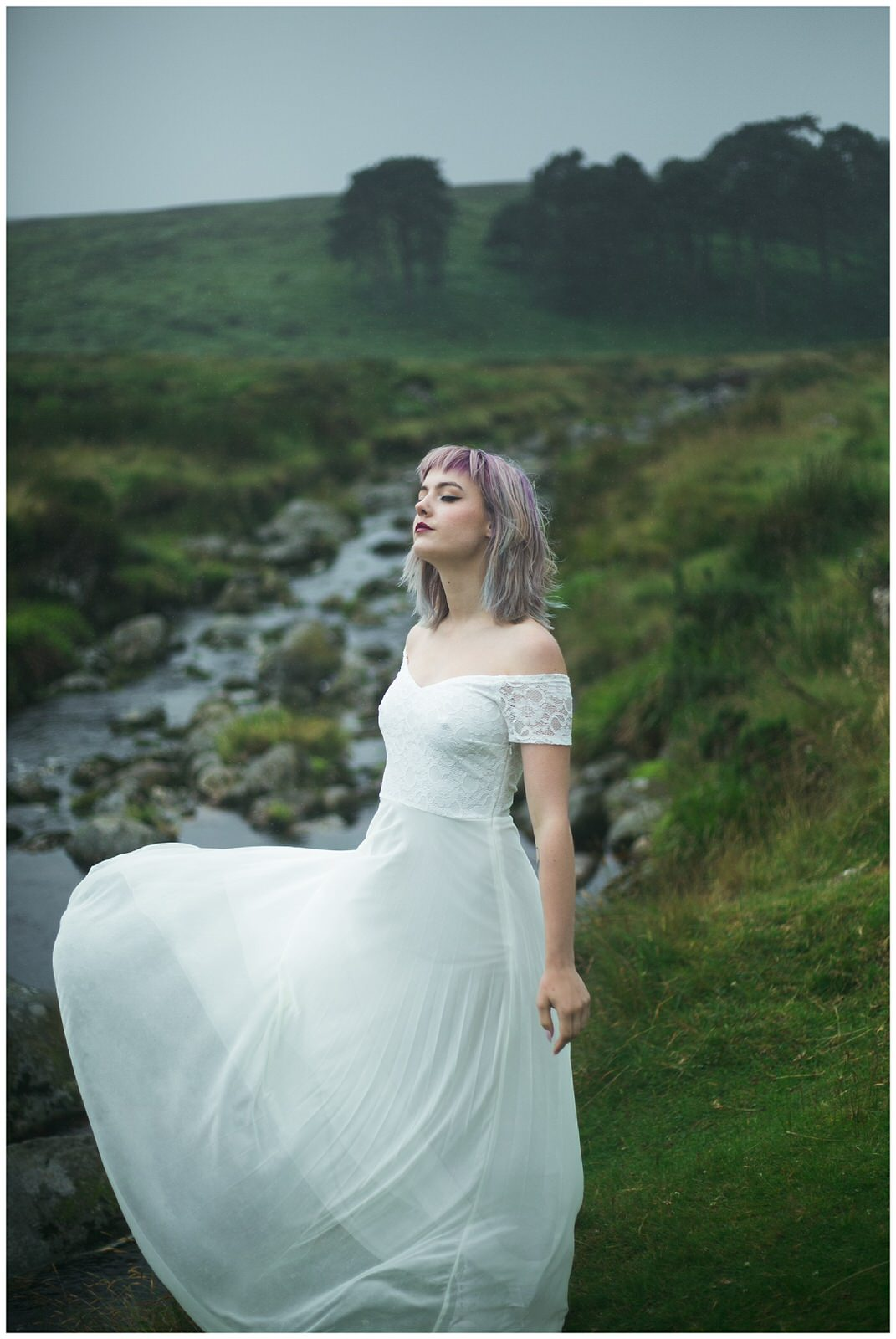 Alternative styled wedding photography Shoot in Wicklow Ireland