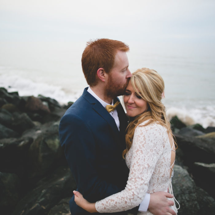 Natalie & Dave's Bohemian Beach Wedding in Gorey