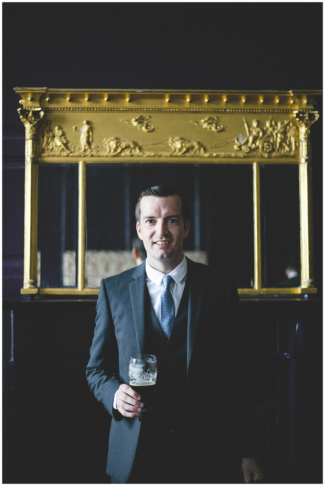 Groom portrait - Wild Things Wed Photography