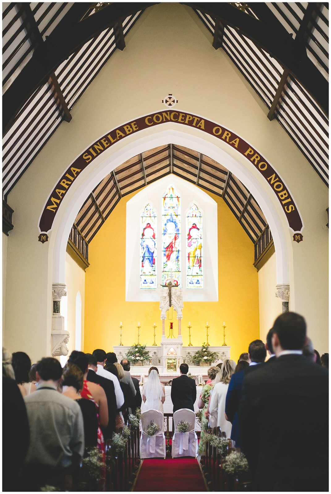 Church wedding photography - Wild Things Wed
