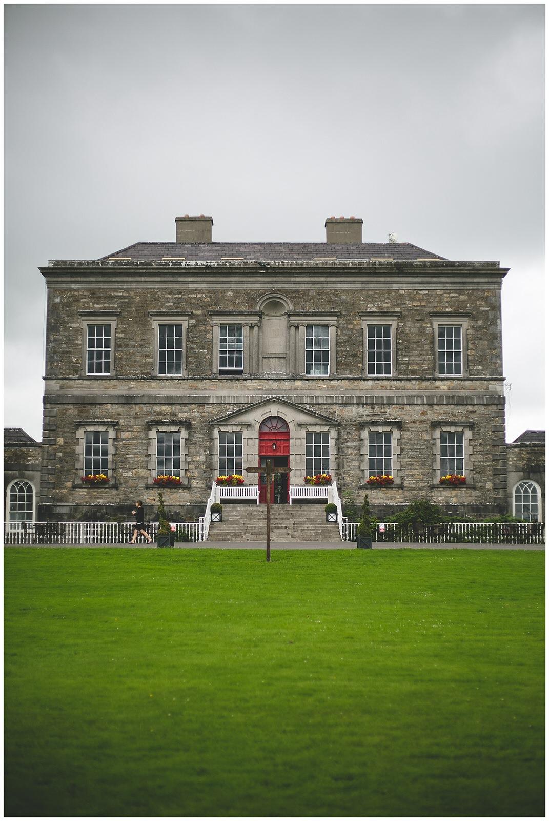 Bellinter House front entrance