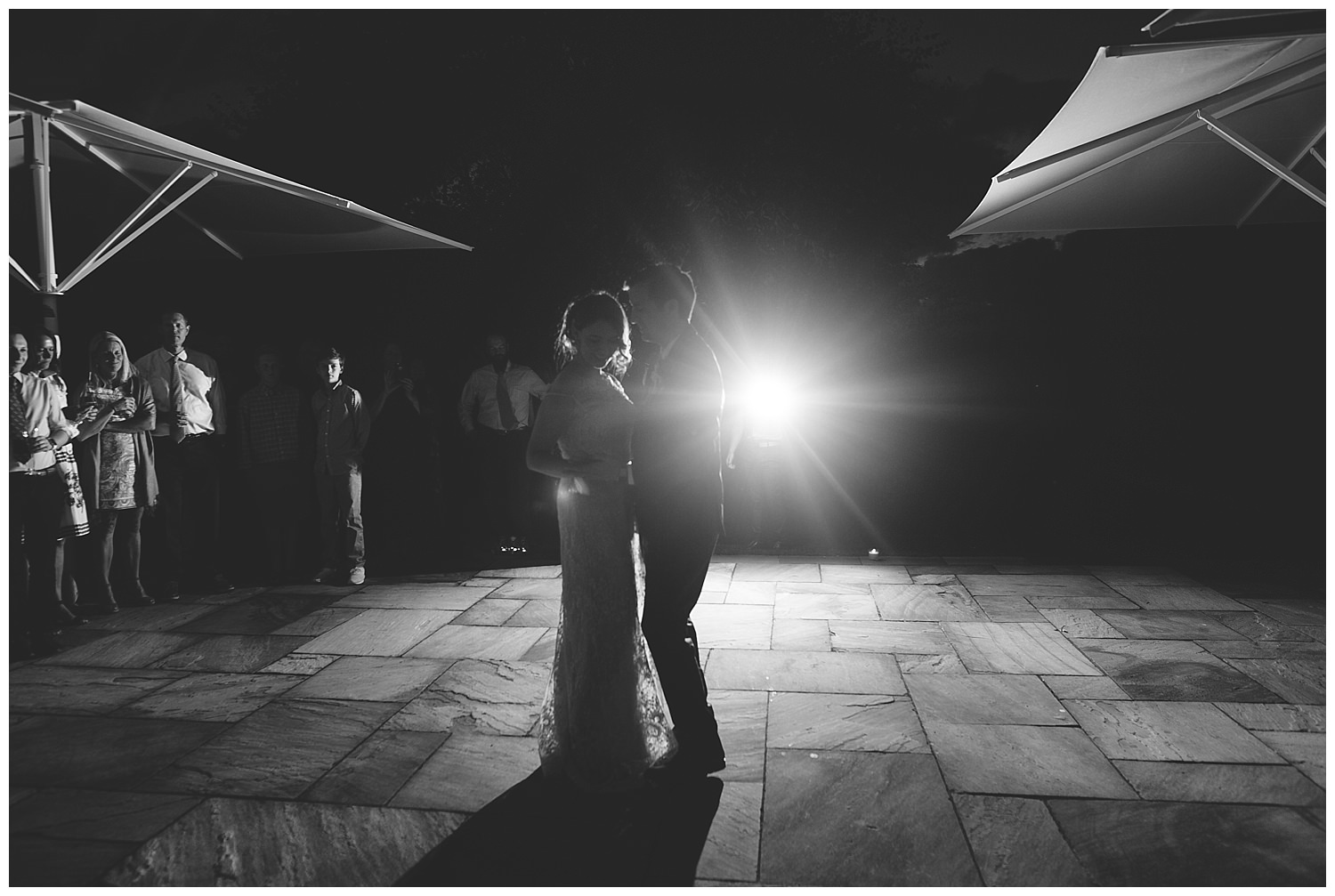 Outdoor first dance at Bellinter House