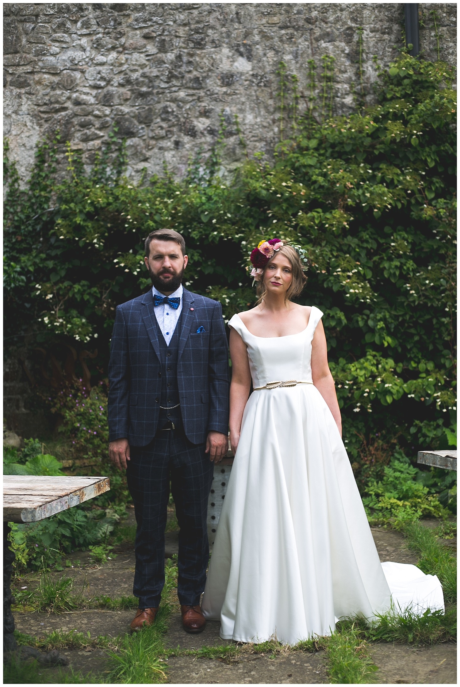 Contemporary and alternative Dublin wedding photography