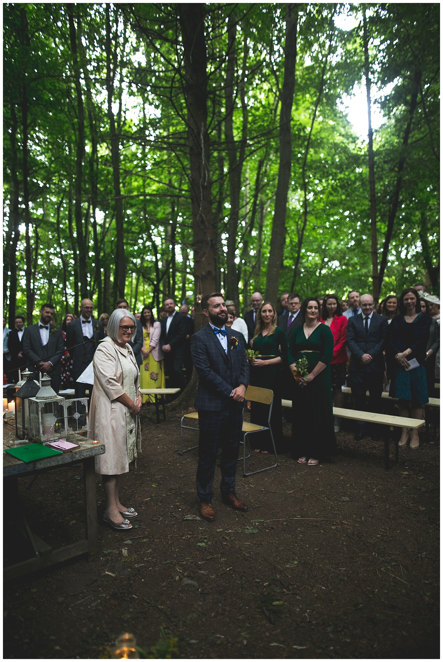 Killyon Manor Woodland Wedding Meath