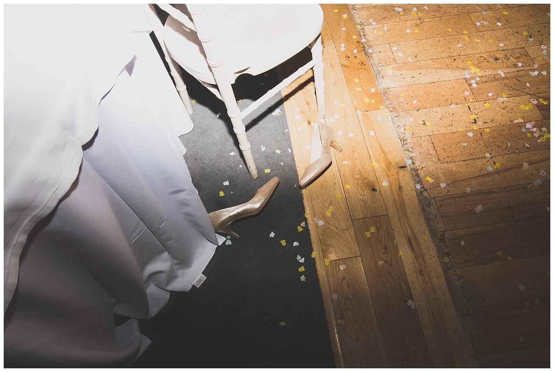 dance floor detritus