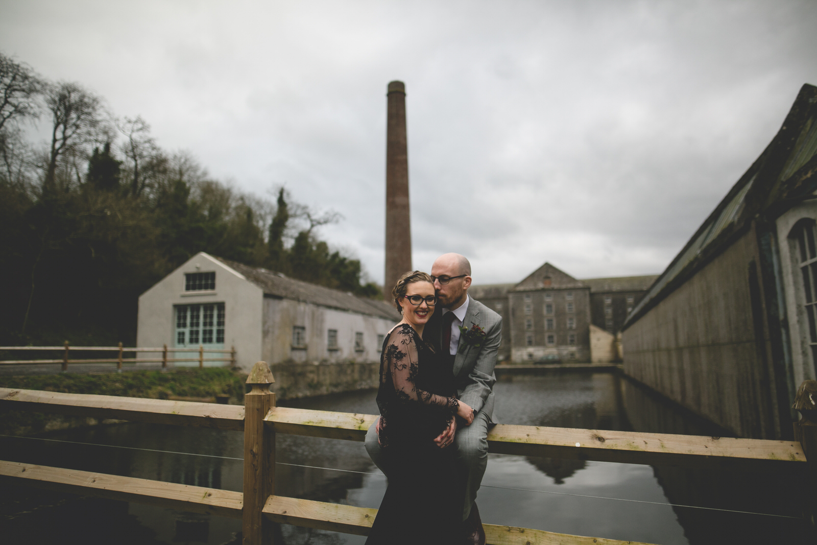 Wedding portrait at the Millhouse In Slane