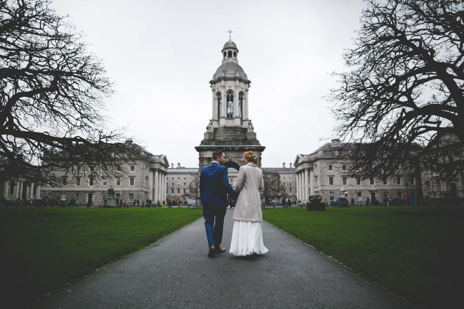 Trinity College Wedding Photography Dublin