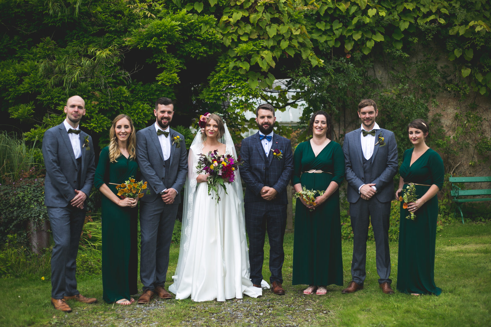Bridal Party photographs at Killyon Manor in Meath