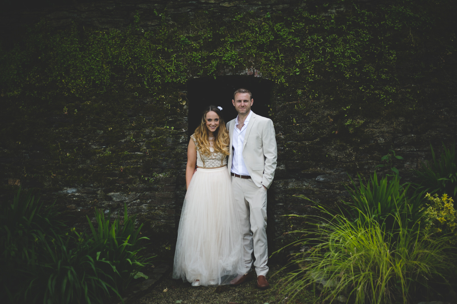 Bride and Groom at Ballybeg House