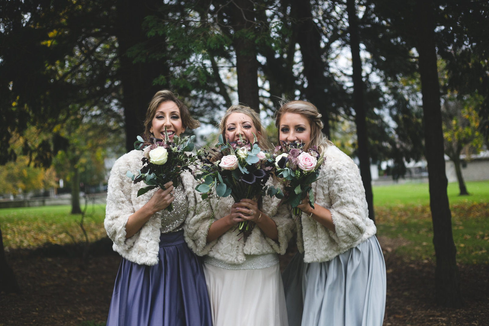 Bridesmaids at Griffith Avenue Church