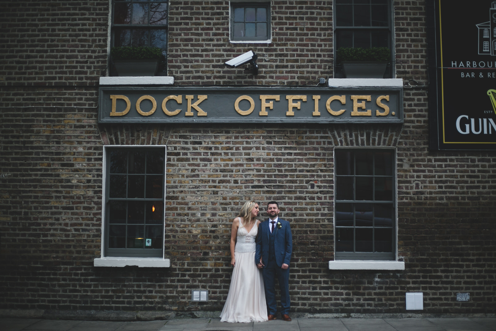 Dock Offices wedding in the Quays Dublin