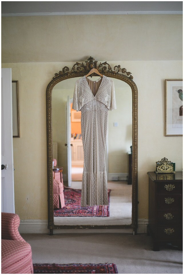 Vintage style wedding dress from Folkster Bridal
