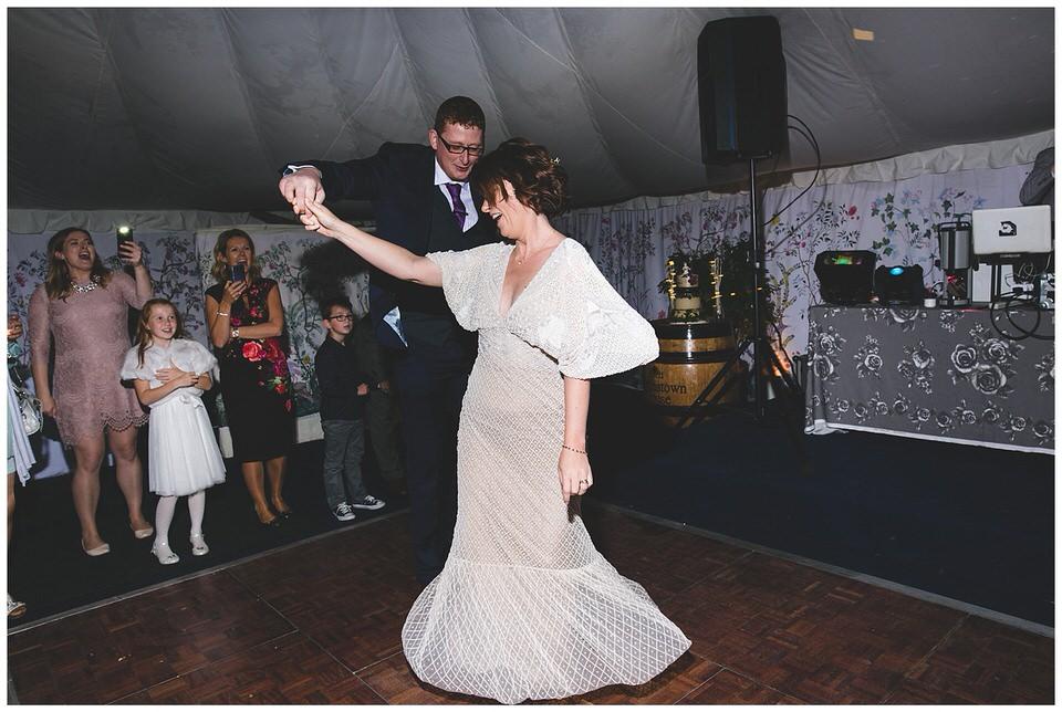 First dance twirls